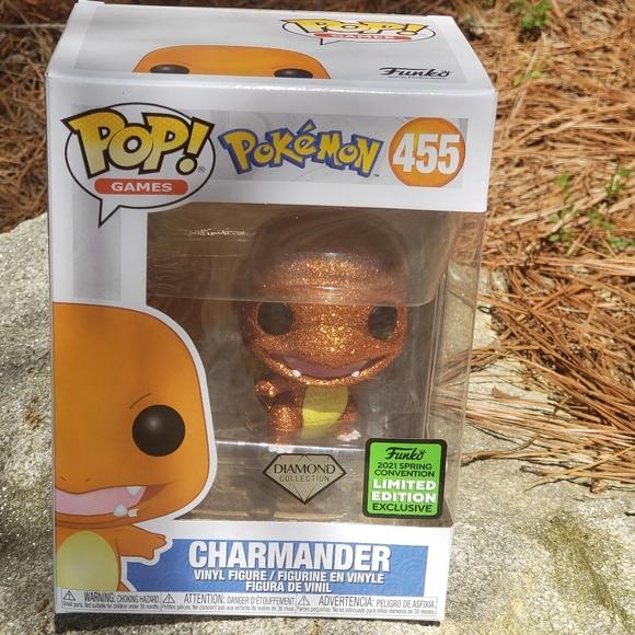 Charmander-Pokémon-Funko Pop! #455